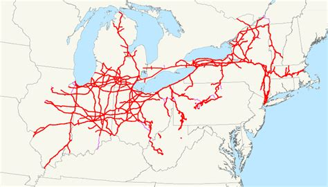 map of railroad tracks in usa railroad freight locomotive engine emd ge boxcar