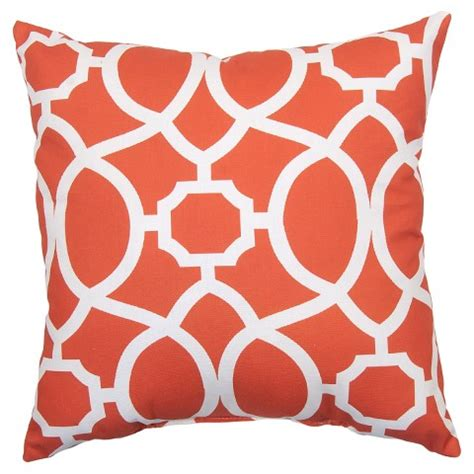 Target Threshold Outdoor Pillows by Outdoor Pillow Coral Trellis Threshold Target