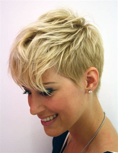 short funky pixie cuts funky pixie with shaved sides multiple views on page