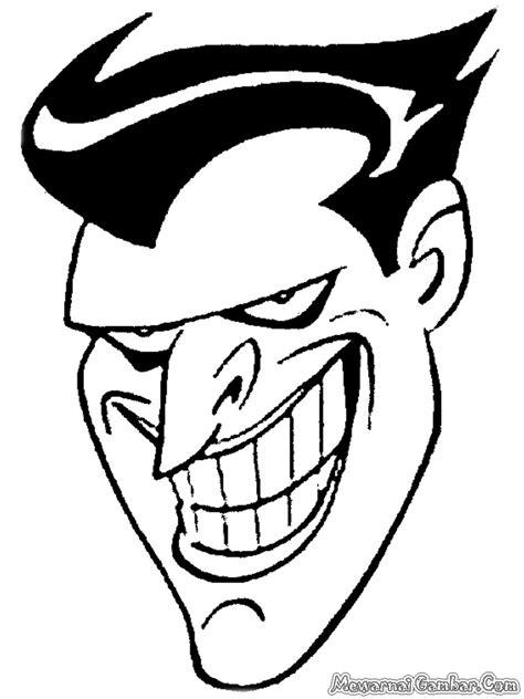 Mewarnai Musuh Besar Batman | Mewarnai Gambar