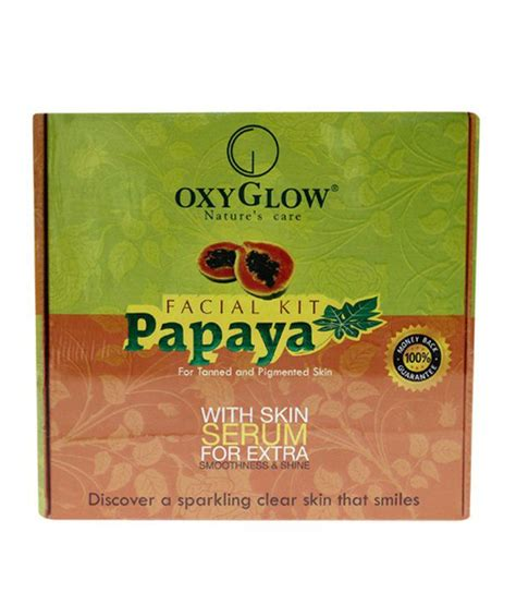 Oxy Glow oxy glow papaya kit 165m buy oxy glow papaya