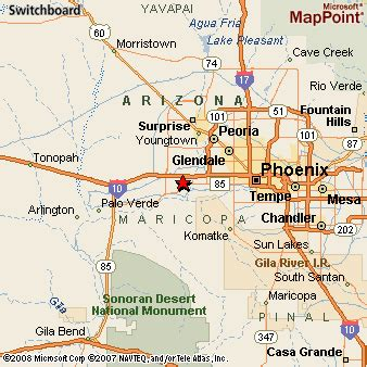 Goodyear Arizona Map by Goodyear Arizona