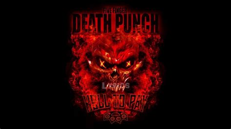 five finger death punch on youtube five finger death punch hell to pay lyrics youtube
