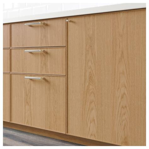 kitchen cabinet doors fronts ekestad drawer front oak 40x20 cm ikea