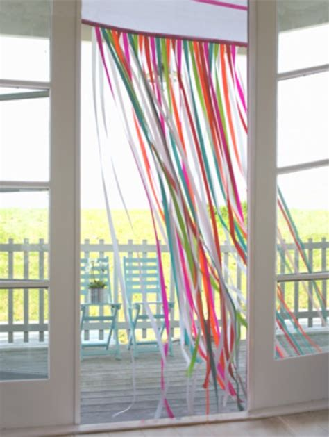 festa tende ribbon curtains inexpensive and so ideas