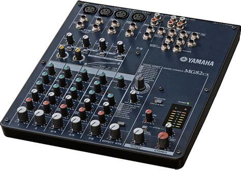 Baru Mixer Yamaha Mg82cx yamaha mg82cx stereo mixer reverb
