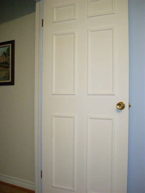 Cheap Hollow Interior Doors Some Info On How To Add Inexpensive Molding To A Cheap Hollow Door To Make It Look Better