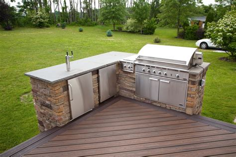 outdoor kitchen faucet terrific deck plans with outdoor kitchen with stainless