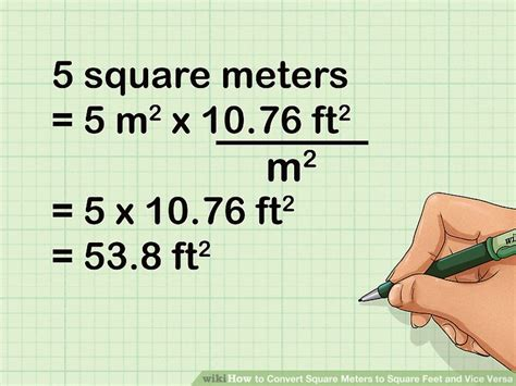 50 meters to feet how to convert square meters to square feet and vice versa
