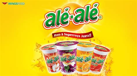 Ale Ale Orange Cup 24x200ml wings indonesia
