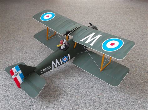 How To Make A Model Airplane Out Of Paper - file s e 5a model aircraft from e flite arf kit jpg
