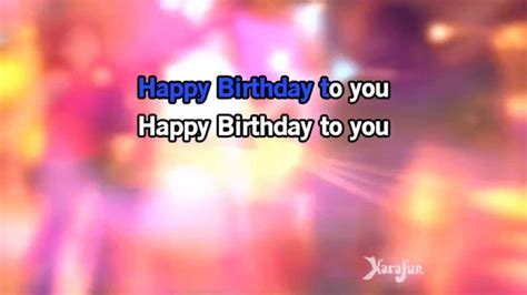 happy birthday to you free karaoke mp3 download karaoke happy birthday happy birthday songs youtube