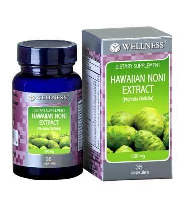Produk Obat Herbal Alami Wellness Hawaiian Noni Extract Original jual wellness hawaiian noni extract 500mg caps 35 s prosehat