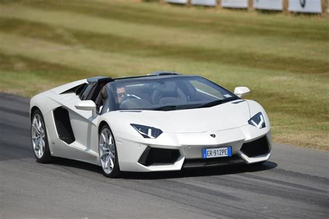 lamborghini aventador s roadster speed lamborghini aventador roadster 2013 goodwood festival of speed