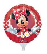 9 Foil Mad About Minnie 24820 Isi 1 bargain balloons airfill licensed balloons mylar