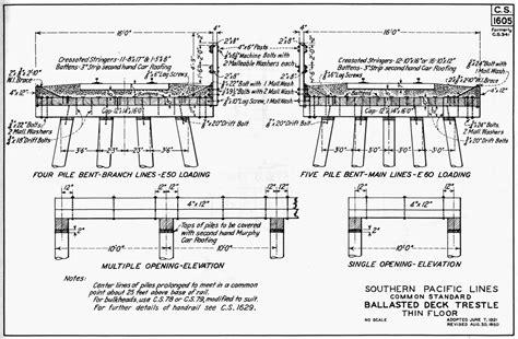 railroad house plans build a trestle bridge images