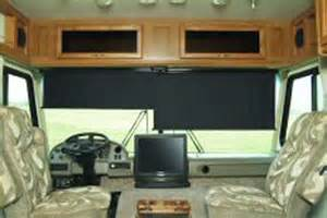 replacement blinds for motorhome front windshield shades for rv images
