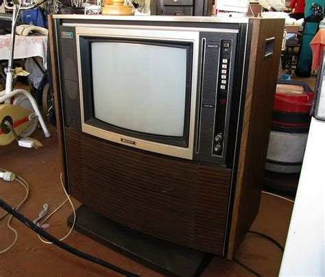 Sony Cabinet Tv retro television blogging while allatsea