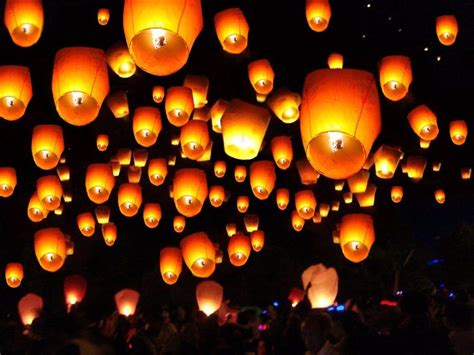 Paper Lanterns For Candles - 20 50 100 paper lanterns sky fly candle l for