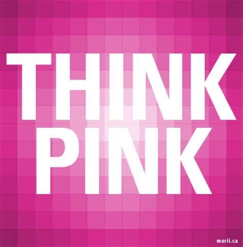Think Pink For Breast Cancer Awareness by S Avenue Think Pink October Is Breast Cancer