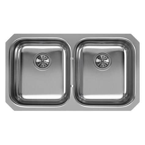 stainless steel undermount sink home depot elkay undermount stainless steel 32 in bowl
