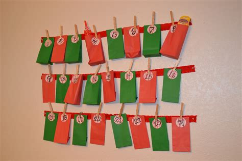 Handmade Advent Calendars - advent for calendar template 2016