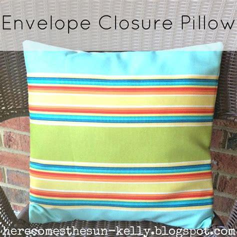 Envelope Closure Pillow by Diy Envelope Closure Pillow
