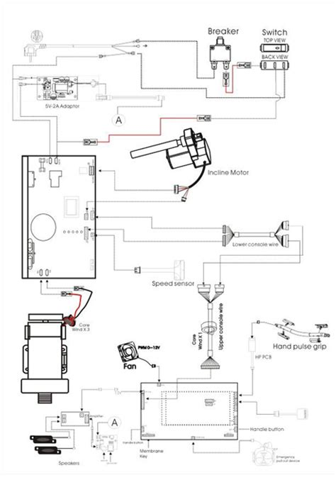 28 treadmill motor wiring diagram testing procedures