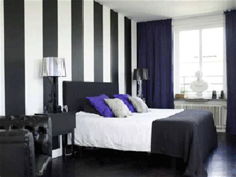 25 ideas to decorate walls with stripes shelterness