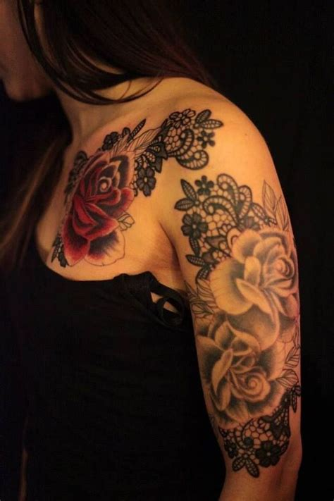 black rose lace tattoo best 25 lace tattoos ideas on black lace