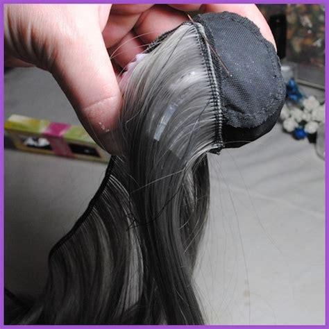 tutorial wig making wig making tutorial