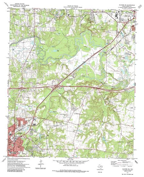 kilgore texas map kilgore ne topographic map tx usgs topo 32094d7