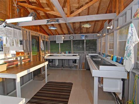 fish cleaning house plans fish cleaning house peffley s c