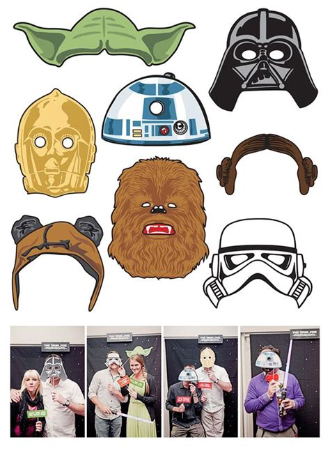 free printable lego photo booth props image result for free star wars photo booth props now