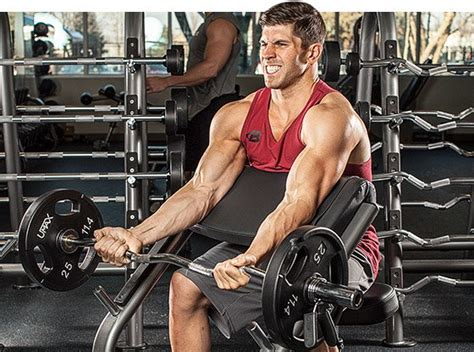 scott bench curls 31 days to bigger arms