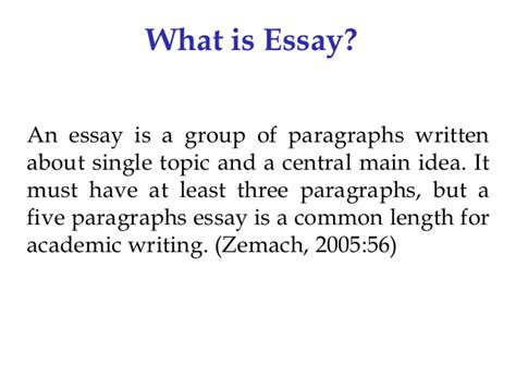 what is the thesis statement in an essay essay an overview