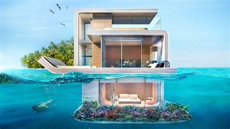 chambre flottante les villas flottantes avec chambre sous marine font un