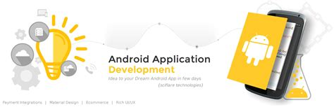 android application development android application development mobile app sciflare
