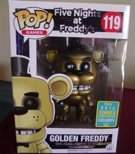 Funko Pop Five Nights At Freddys Golden Freddy Exclusive pop five nights at freddy s golden freddy 119 funko r 349 00 em mercado livre