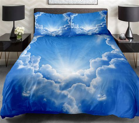 cloud bedding set cloud bedding sets queen duvet covers king bedding set by tbedding