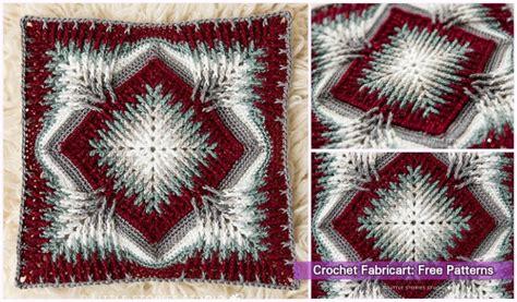 crochet elements cal blanket  pattern