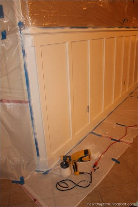 Mdf Wainscoting Diy diy board and batten living room