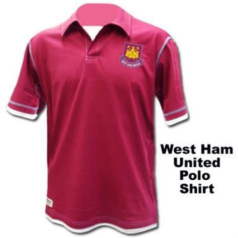 Polo Shirt West Ham United Harmony Merch west ham united polo shirt official west ham shirt ref whu inlay02