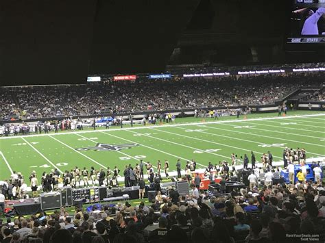 what is section 144 superdome section 144 new orleans saints rateyourseats com
