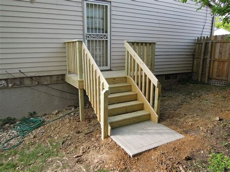 simple deck stairs ideas  home design