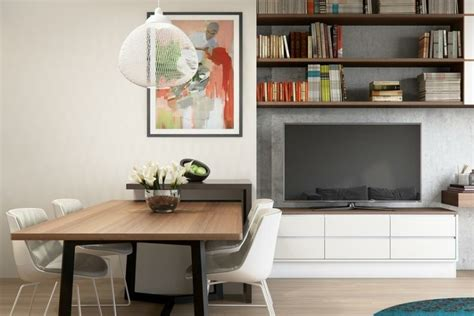 bookshelf tv unit interior design ideas