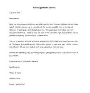 for marketing services template marketing letter template 38 free word excel pdf