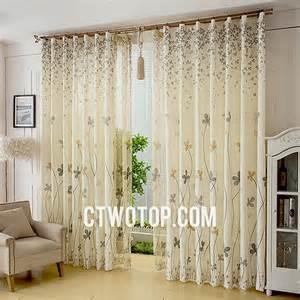 Patterned Linen Curtains La Danza Dei Sensi Ctwotop