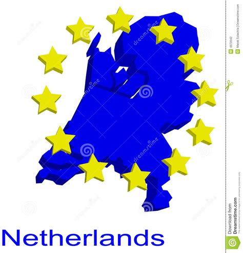 netherlands contour map contour map of netherlands stock photography image 4970542