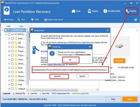 download minitool power data recovery 7.0 serial key